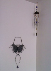 Windchime and Butterfly